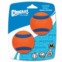 Chuckit! ULTRA BALL Durable Rubber Fetch Floating Dog Toy Fits Launcher