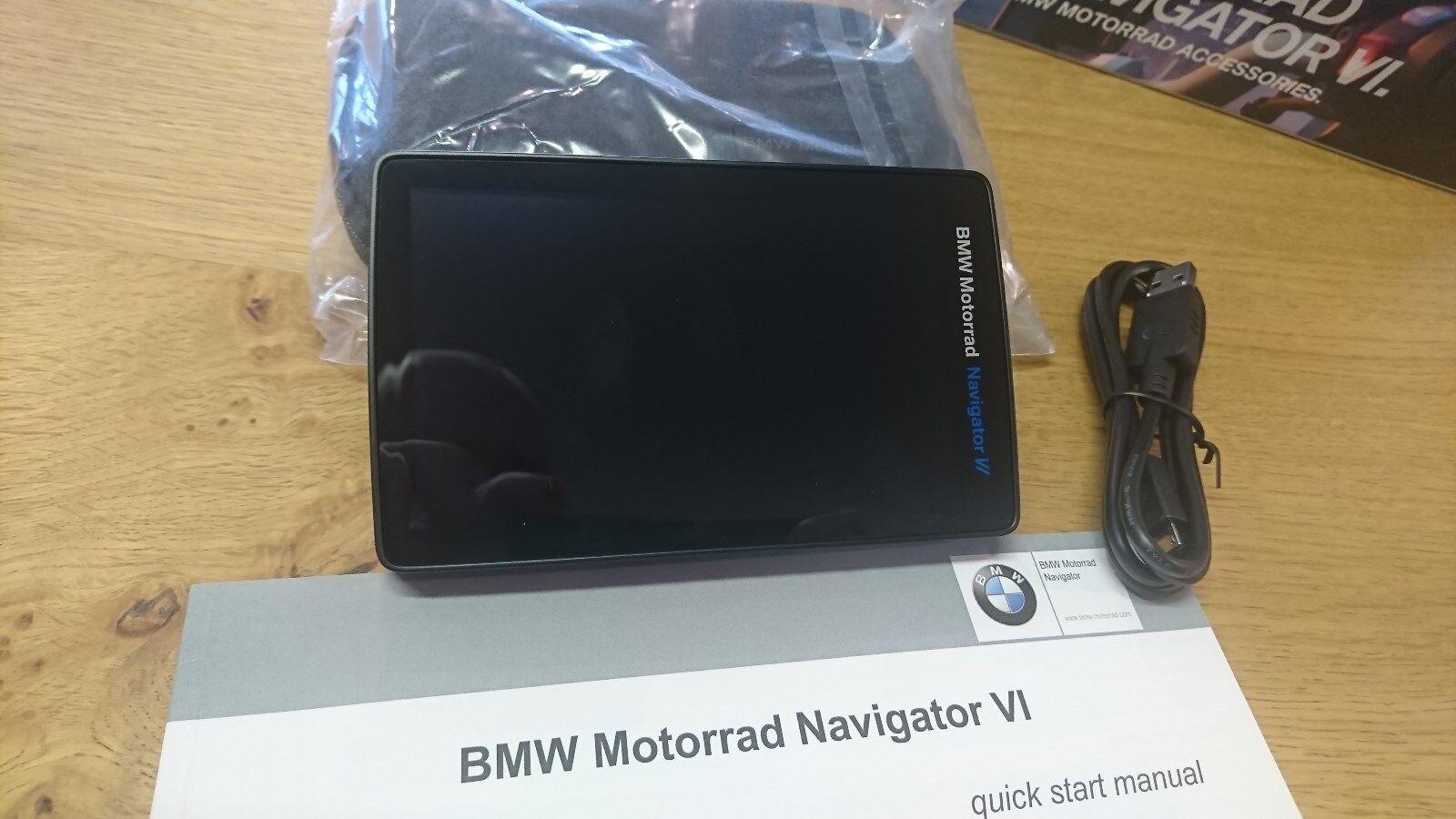 bmw motorrad navigator vi 6 sat nav garmin gps bike motorcycle ebay rh ebay co uk BMW Motorrad Navigator Wiring BMW Motorrad Navigator Color Map