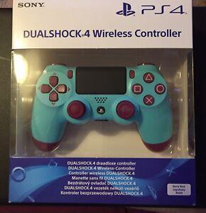 PlayStation 4 Controller Berry BLU-ORIGINALE UK-NUOVO e SIGILLATO