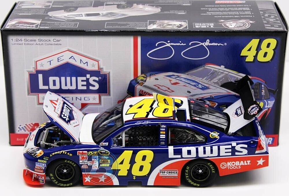 48 CHEVY NASCAR 2009  LOWE´S MEMORIAL DAY  Jimmie Johnson - 1 24 lim.Ed.