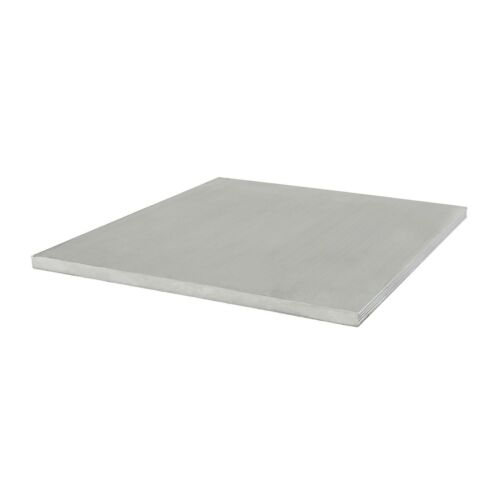 80//20 Inc 100mm x 4mm Aluminum Flat Stock 25 Series 25-8361 x 610mm Long N