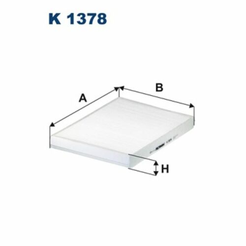 espacio interior aire Filtron K 1378 Filtro