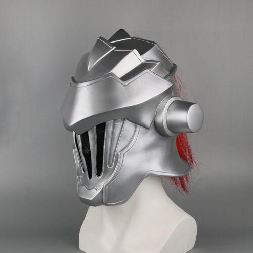 2019 Anime Goblin Slayer Mask Cosplay Halloween Goblin Slayer Helmet Mask Props
