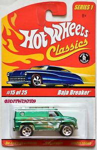 Hot Wheels Klassische Serie 1 #15/25 Baja Leistungsschalter Grün Modellbau