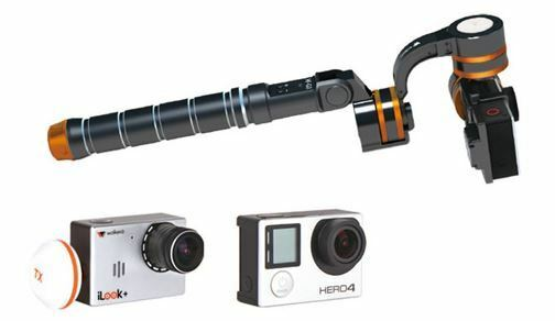 WALKERA HF-G3 3-Axis De Mano Steady Gimbal for iLook GoPro HERO 3 4 Cámara +