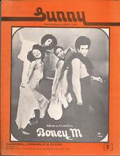 Boney M. Sunny UK Sheet Music