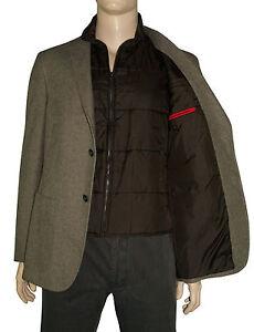 new concept 3b147 86942 Dettagli su Fay uomo Giacca cotone con gilet - Double jacket NHM75271170