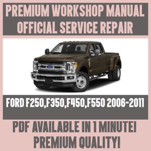 workshop manual service repair guide for ford f250 f350 f450 f550 rh ebay co uk ford f250 repair manual ford f250 repair manual online