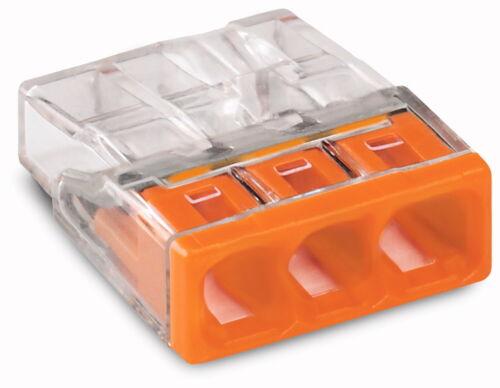 #2273-203 NEU 20 STÜCK WAGO Compact Verbindungsklemmen 3 x 0,5-2,5 qmm