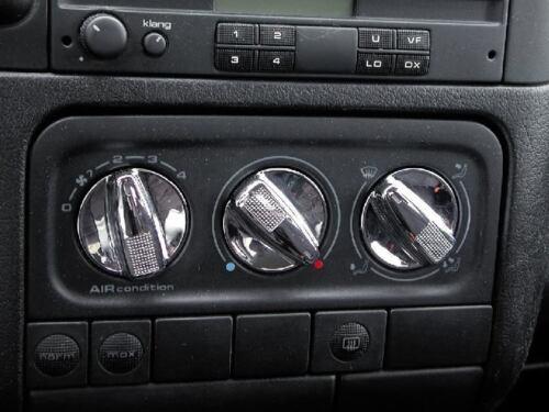 CLASSYfor VW MK3 CHROME HEAT AIR BUTTONS KNOBS JOM FULL SET