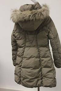 finest selection 6a884 2eec5 Details about F32 ITALY TOP QUALITY FUR DOWN Jacket COAT HOODED Parka  Piumino Pellicia M WARM+