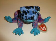 fe27bf99e66 DART THE BLUE DART FROG ~ TY BEANIE BABY~ RETIRED ~ MINT WITH MINT TAGS