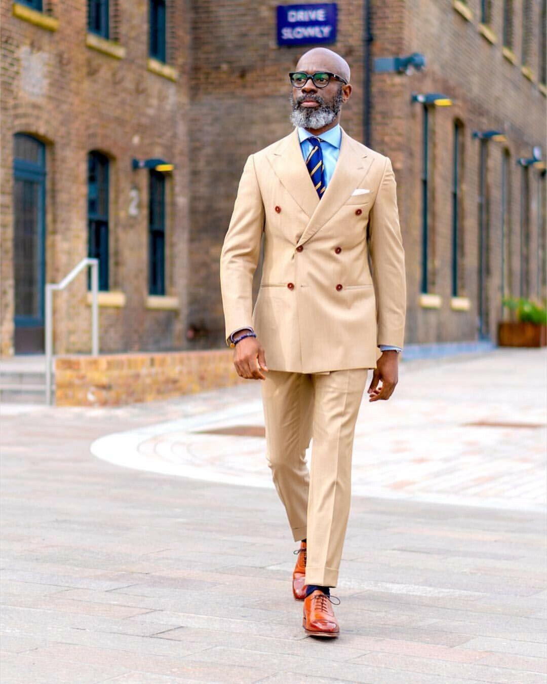 Para hombre traje crema de doble abotonadura Groom  el frac o Clásico Boda Formal Suit Personalizado  ventas en linea