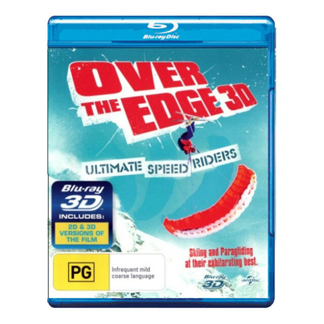 Over the Edge 3D Blu-ray Brand New Region B Aust. (Includes 3D and 2D Versions)