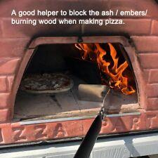 Brick Pizza Oven 49 Inch Long Rake Detachable Scraper Ash Wood Clean Brush Tool