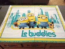 "Le Buddies Minion Panel 43"" x 35"" by Quilting Treasures Crib Top Minion Movie"