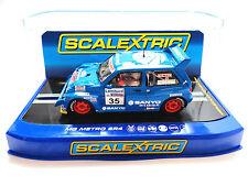 "Scalextric ""Sanyo"" MG Metro 6R4 DPR W/ Lights 1/32 Scale Slot Car C3639"