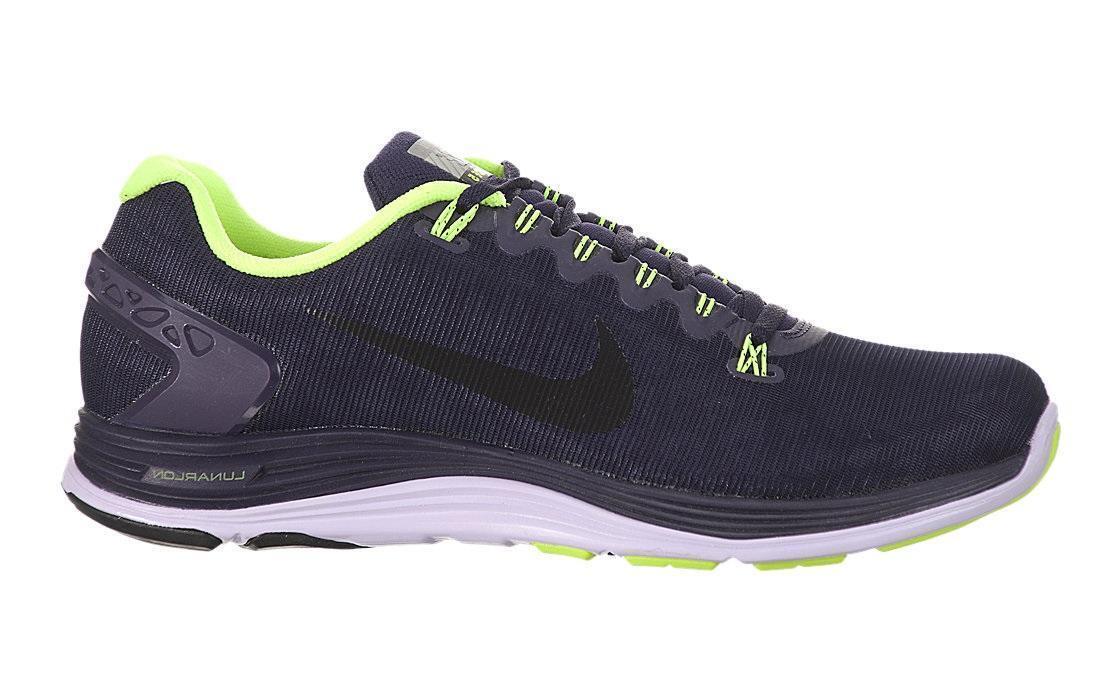 Mujeres Nike Lunarglide + 5 508 Escudo púrpura entrenadores 615980 508 5 7c9e8e