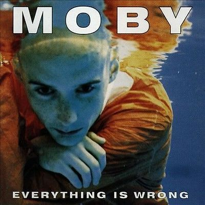 Moby - Everything Is Wrong  (CD, Mar-1995, Elektra (Label))