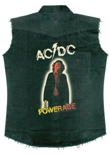 amp; Official Shirt Work 'powerage' New dc Ac qxtEYXIwEn
