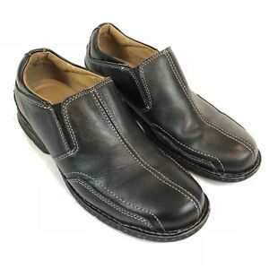 dockers mens shoes leather comfort slip on loafer casual