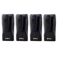 4 Pcs Battery for Motorola Radio CP150 CP200 PR400 EP450 as NNTN4496/NNTN4497