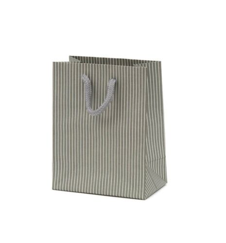 Luxury Stripe Paper Gift//Carrier Bag with Rope Handles Various Sizes