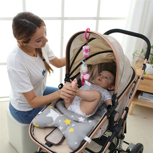 Newborn Bed Stroller Rattle Plush Mobile Toy Kids Hanging Bell Crib Doll ONE
