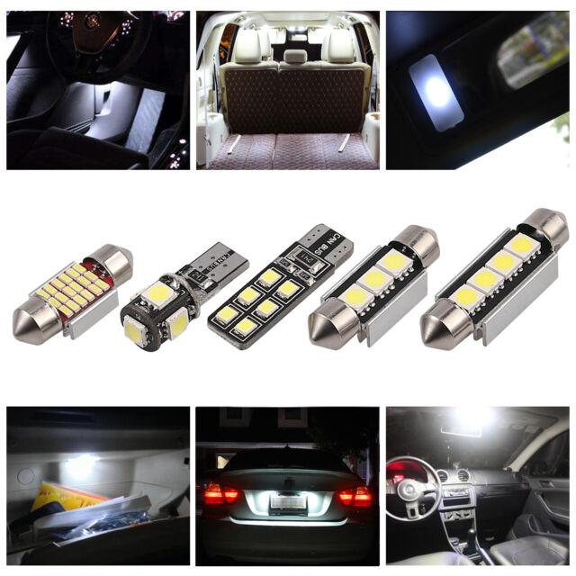 20X LED SMD bulbs kit Car Interior Dome License Plate Lights C5W T10 Xenon 6000K