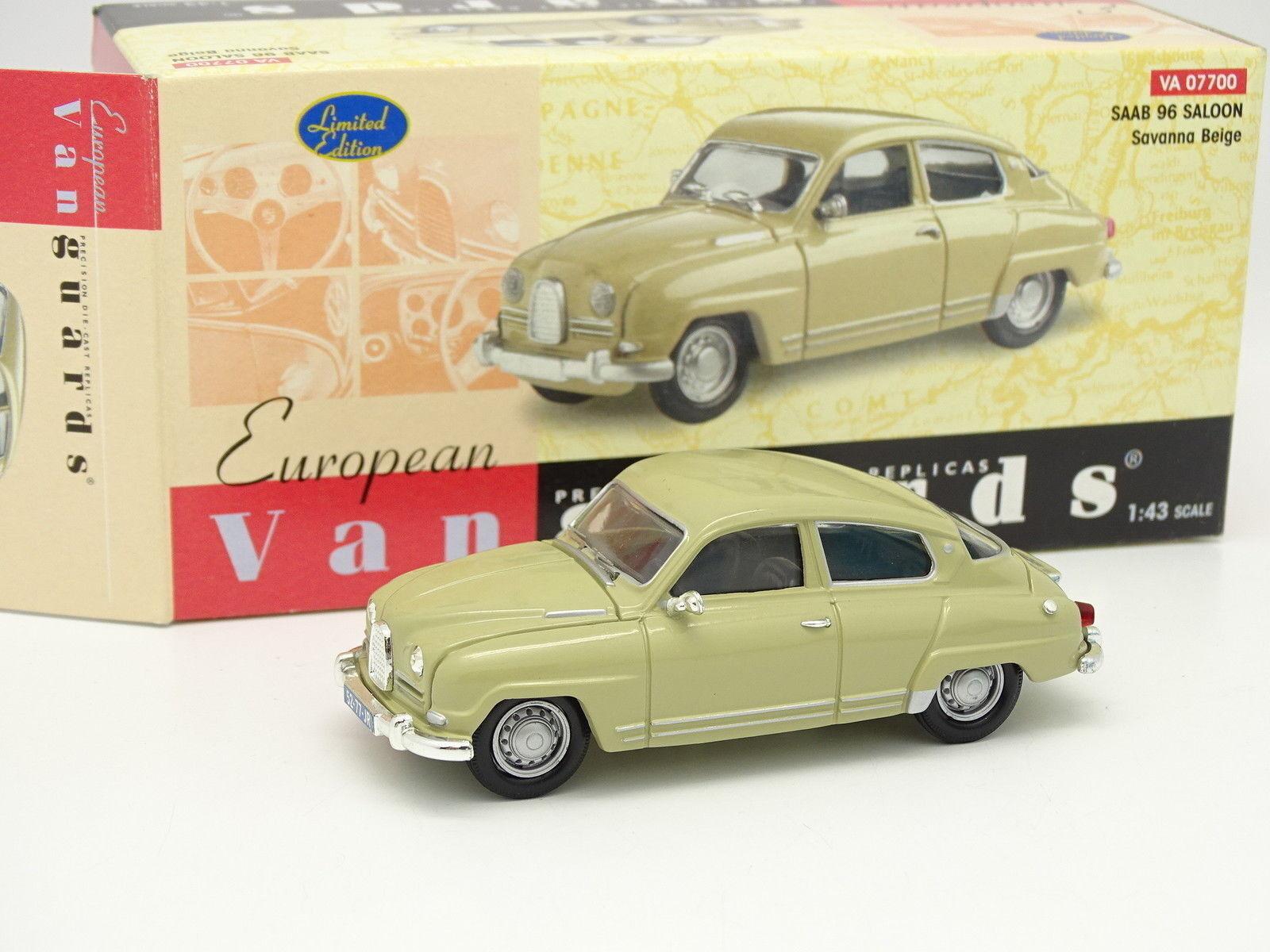 Vanguards 1 43 - Saab 96 Beige