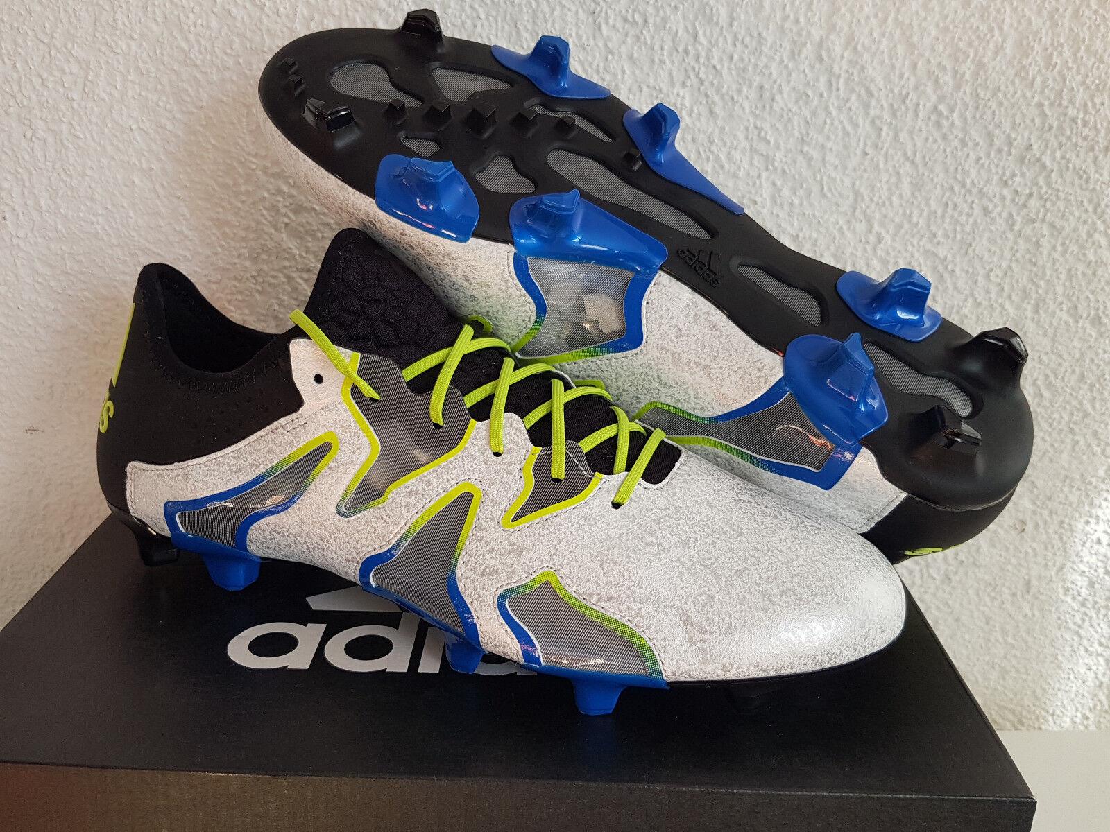 NUOVO Adidas x15 SL FG US 10 UE 44 scarpe calcio rarità Copa f50 ACE