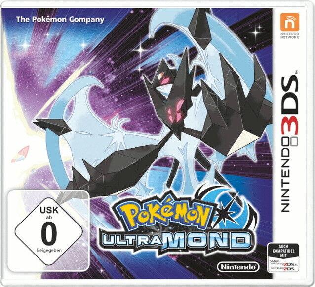 ++ Pokémon UltraMond Nintendo 3DS - deutsche Version ++
