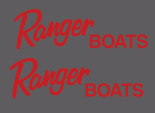 Ranger Boats Decal//Sticker Pair Choose color//size Bass Fishing FLG6-63