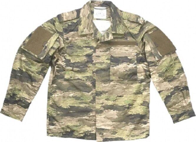 Leo Köhler Pantaloni A-TACS IX Outdoor Mimetico Combat Giacca Coat Giacca XLarge