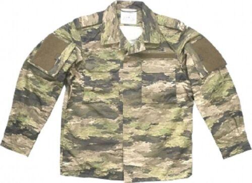 Leo Köhler A-Tacs Ix Extérieur Camouflage Combat Veste de Manteau Medium