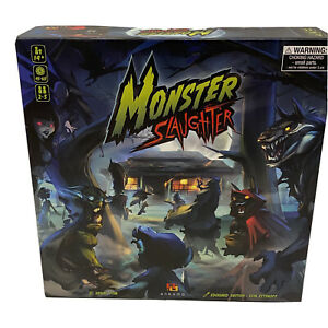 Monster-Slaughter-Ankama-Board-Game-Kickstarter-Edition-Unpunched-New-Rare