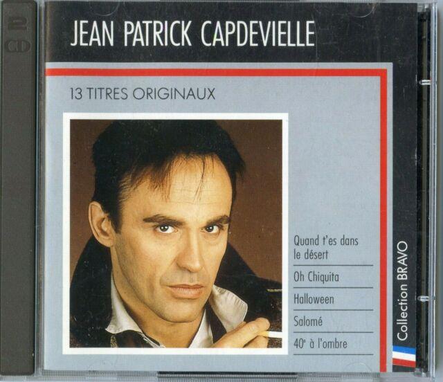"JEAN-PATRICK CAPDEVIELLE ""BRAVO"" VOL 1 CD COMPILATION DE 1988 CBS ++ RARE +++"