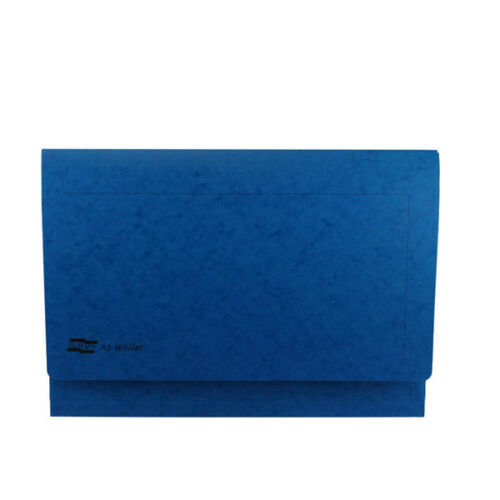 Europa A3 Blue Document Wallet Pack of 25 4785Z