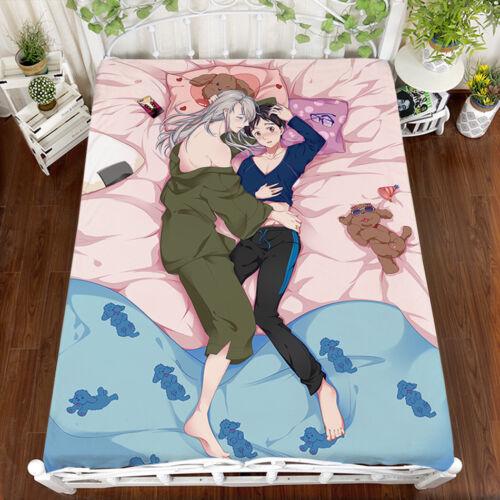 on ICE Victor Nikiforov Katsuki Yuri Soft Flannel Blanket 150*200 cm New YURI!!