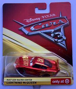 Disney Pixar Cars 3 Rust-eze Racing Center Lightning McQueen Target Exclusive