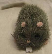 "GANZ Creepy Go Go's FUZZY SHAKING MOUSE 4"" Plush STUFFED ANIMAL Toy"