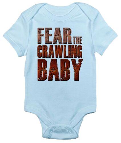 Newborn Infant Kids Baby Boy Girl Romper Bodysuit Jumpsuit Clothes Walk Dead