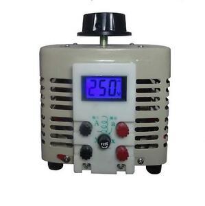 Voltage regulator household tdgc2 single phase variac 1000w 0-250v ...