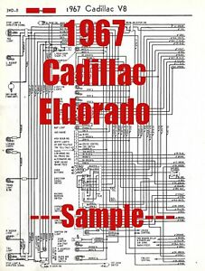 1967 Cadillac Eldorado Full Car Wiring Diagram *High ...