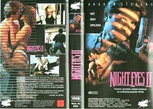 NIGHT-EYES-2-II-Usa-1991-VHS-Fox-1a-Ed-Rodney-McDonald-Shannon-Tweed