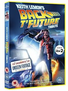 Keith-Lemon-039-s-Back-T-039-Future-Tribute-DVD-2015-New-Sealed-Back-To-The-Future