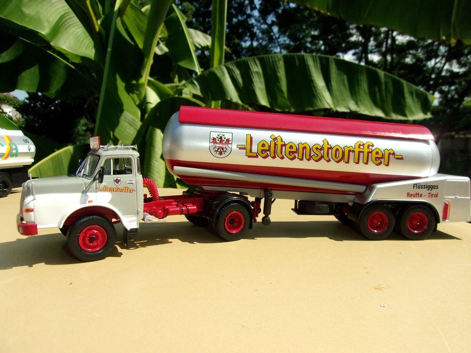 N° 88  MAN 19.240 Hauber Camion Semi Semi Semi Remorque Citerne  1 43 Neuf c270ee