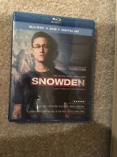 Snowden Bluray 1 Disc Set ( No Digital HD) In Hand Ready To Ship
