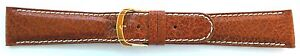 20mm-FLEURUS-GENUINE-BUFFALO-TAN-PADDED-LEATHER-WATCH-BAND-CONTRAST-STITCH