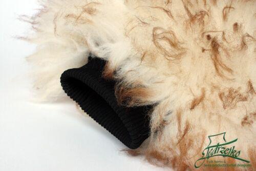 NATURAL Detailing glove sheep skin lamb wash mitt mammot MERINO pad car wool